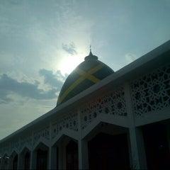 Photo taken at Masjid Raya Jatimulya by nasrulloh h. on 7/9/2013