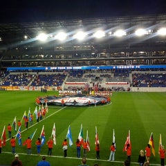 Photo taken at Red Bull Arena by Paul S. on 9/29/2012