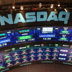 Photo taken at Nasdaq by Nigel D. on 4/8/2013