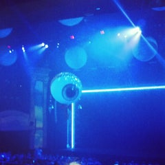 Photo taken at Blue Man Group Theater by Yolanda A. on 11/2/2012