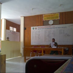 Photo taken at SMKN 2 Barru, by Ahmad I. on 11/4/2012