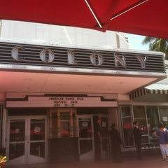 Photo taken at Colony Theater by Dennis H. on 6/21/2013