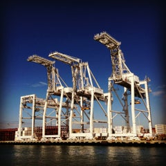 Photo taken at Oakland Ferry Terminal by clogozm on 10/6/2012