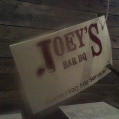 Photo taken at Joey's Bar-B-Q by Luis on 11/4/2012