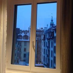 Photo taken at Hotel Waldstätterhof by Boa K. on 12/27/2014