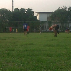 Photo taken at Lapangan Bola FISIP by Krisdianto D. on 6/21/2014