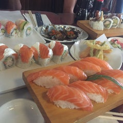 Photo taken at Pacific Cabin Sushi by elsa on 10/23/2015