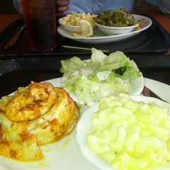 Photo taken at Luby's by Nyechi O. on 3/28/2014