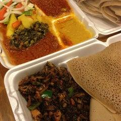 Photo taken at Gojo Ethiopian Restaurant by Melissa D. on 12/16/2013