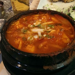 Photo taken at Tofu House Valencia by Terry M. on 5/9/2014