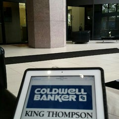 Photo taken at COLDWELL BANKER King Thompson by Michael J. on 6/8/2015