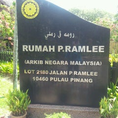 Photo taken at P. Ramlee's House by aesha f. on 3/30/2013