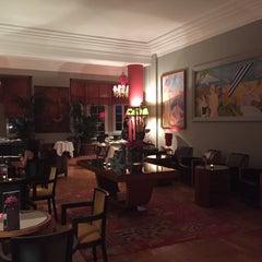 Photo taken at Hôtel Belles Rives by Dogan G. on 7/20/2015