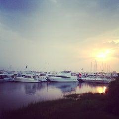 Photo taken at Champlin's Marina by Jon D. on 9/1/2013