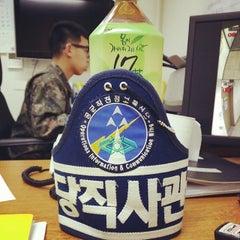 Photo taken at Osan Air Base by 성진 안. on 3/27/2014