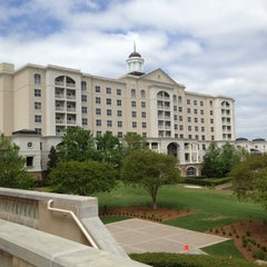 Photo taken at The Ballantyne Hotel & Lodge, Charlotte by Chad R. on 4/23/2013