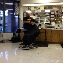 Photo taken at Western Plaza Barber Shop by Stephen B. on 11/3/2012