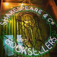 Photo taken at Shakespeare & Co by Cynthia P. on 6/12/2014
