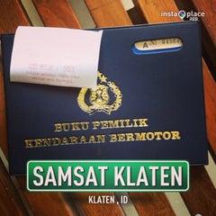 Photo taken at Samsat Klaten by superdogye 🐶 on 4/9/2013