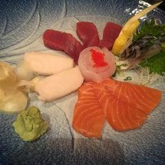 Photo taken at Toyama Sushi by QQ on 2/4/2015