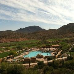 Photo taken at JW Marriott Tucson Starr Pass Resort & Spa by Erica M. on 4/13/2012