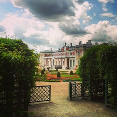 Photo taken at Kadrioru Loss | Kadriorg Palace by Evgenia K. on 6/8/2013