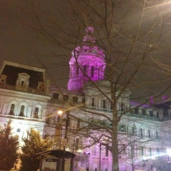 Photo taken at Baltimore City Hall by Randy S. on 1/26/2013
