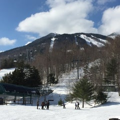 Photo taken at Whiteface Mountain by Tom O. on 2/22/2015