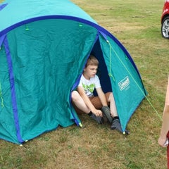 Photo taken at Alton the Star Camping and Caravanning Club Site by Neil K. on 7/20/2013