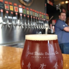 Photo taken at Great Divide Brewery by Mike C. on 11/5/2012