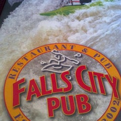 Photo taken at Falls City Restaurant & Pub by Camille W. on 9/28/2013