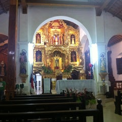 Photo taken at Iglesia Santa Librada by Junier L. on 7/18/2014