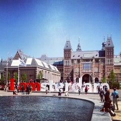 Photo taken at Rijksmuseum by Leonardo F. on 5/27/2013