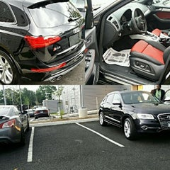 Photo taken at Audi of Alexandria by A.C. S. on 5/17/2014