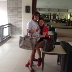 Photo taken at Field Residences Lobby by Sweet Grace G. on 2/22/2014