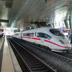 Photo taken at Frankfurt Airport Int'l Railway Station by Samantha S. on 8/6/2015