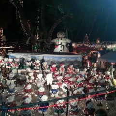 Photo taken at Christmas Light Display (christmasdisplay.org) by Chris D. on 12/23/2013