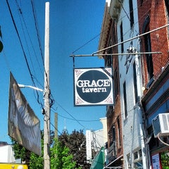 Photo taken at Grace Tavern by Michael P. on 5/4/2013