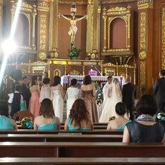 Photo taken at St John the Baptist Parish Church by Jovy on 12/6/2014