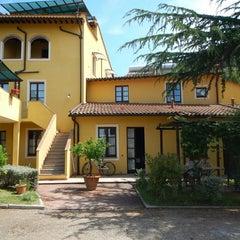 Photo taken at Agriturismo resort Belmonte Vacanze by Inge on 6/26/2014
