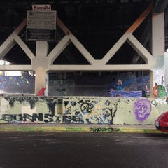 Photo taken at Burnside Skate Park by Andy L. on 11/8/2014
