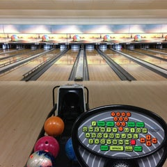 Photo taken at Buffaloe Lanes North Bowling Center by Rob L. on 7/25/2013