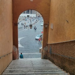Photo taken at Piazza Pio XII by Jean-Francois L. on 10/4/2013