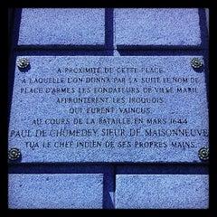 Photo taken at BMO Banque de Montréal by Jean-Francois L. on 6/4/2013