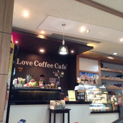 Photo taken at Love Coffee Café by Siriwan P. on 9/28/2013