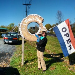 Photo taken at Wally's Place - Bagel & Deli by Bill M. on 10/12/2014