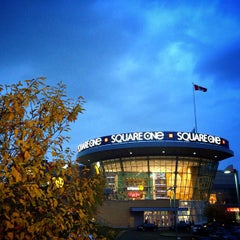 Photo taken at Square One Shopping Centre by Anil P. on 10/14/2012