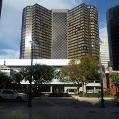 Photo taken at Hyatt Regency New Orleans by Leandra H. on 10/25/2012