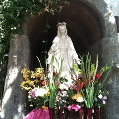 Photo taken at Mission San Buenaventura by Judy A. on 5/27/2013