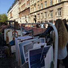 Photo taken at Jægersborggade by Tine S. on 4/27/2014